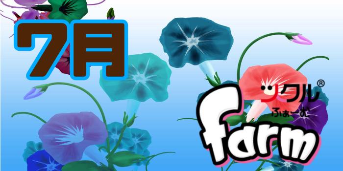 7月★farm活動報告